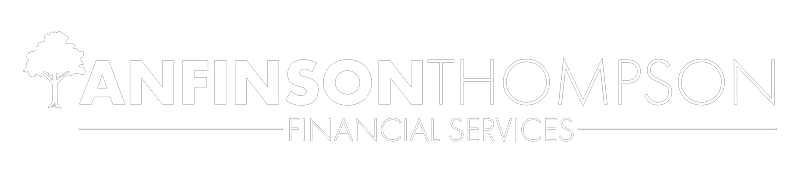 anfinson thompson financial services logo white