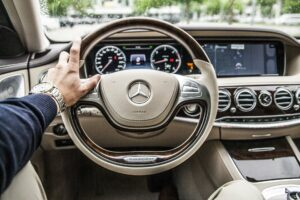 dash of mercedes car - irs mileage rate